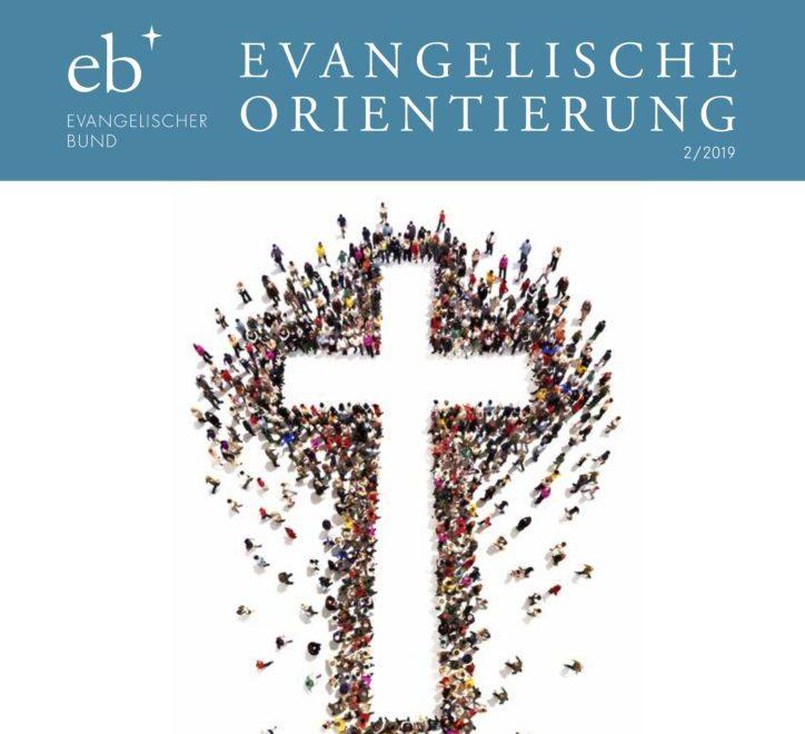 """Plädoyer von Jens Schnabel in der Zeitschrift """"Evangelische Orientierung"""" erschienen"""