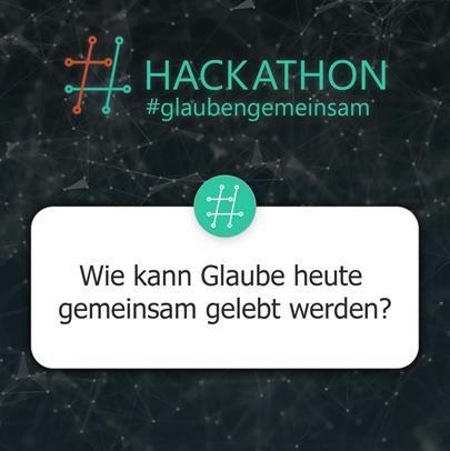 Hackathon #glaubengemeinsam